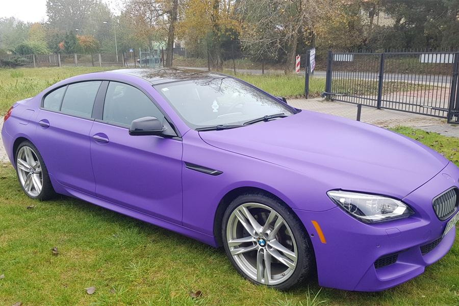 Zmiana koloru auta BMW